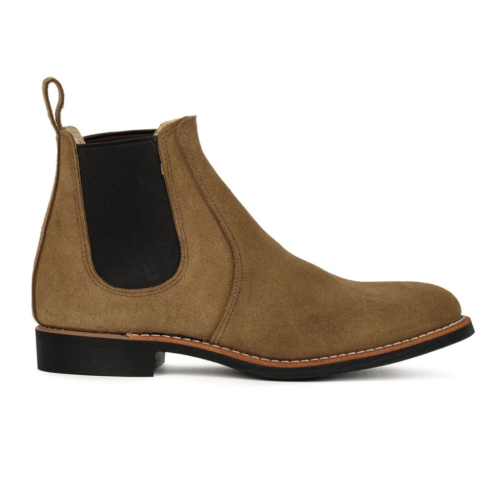 Red Wing Womens 6 Inch Chelsea Boot Olive Mohave Leather
