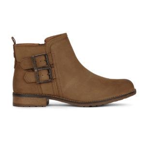 Barbour Womens Sarah Low Buckle Boot Cognac