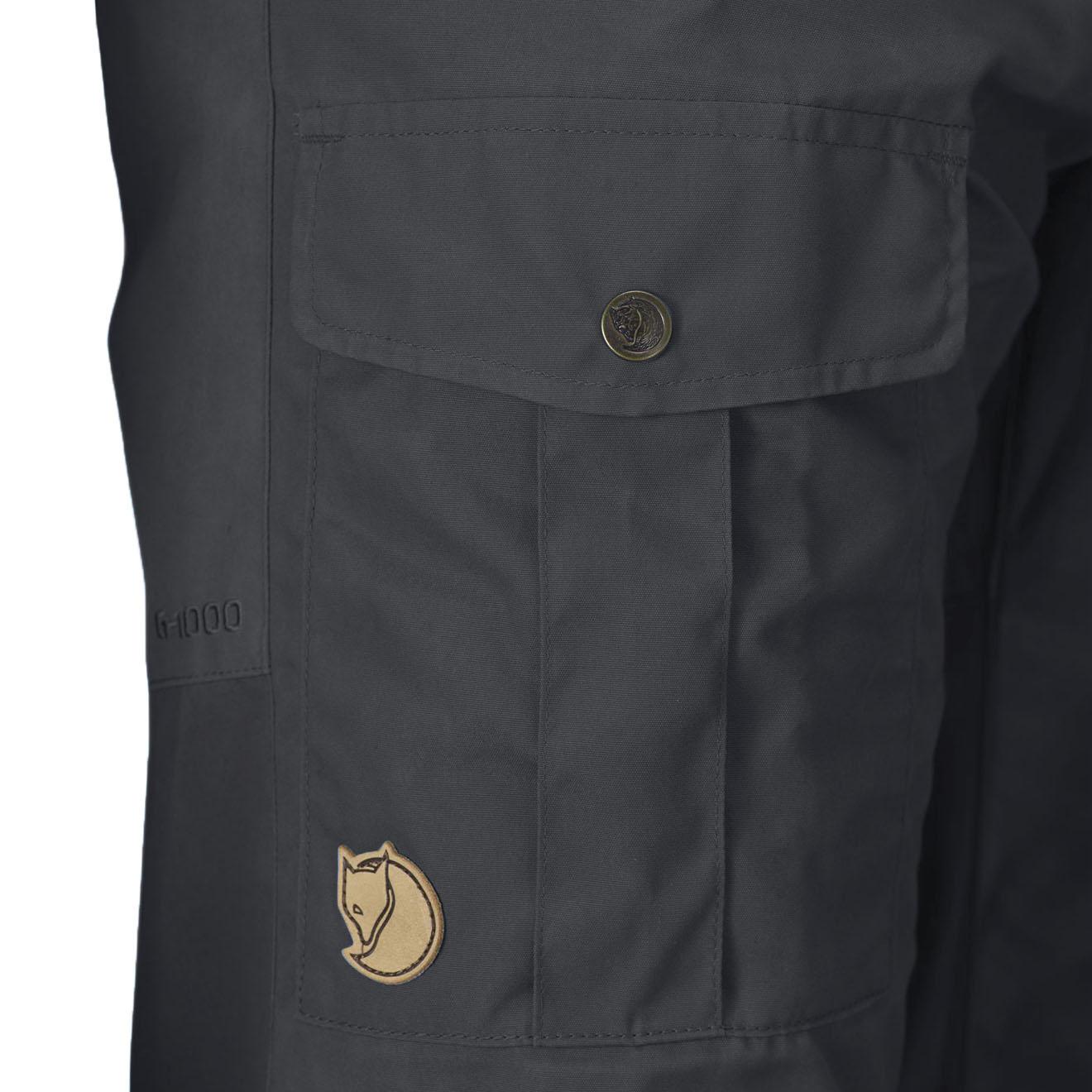 d9df690b Fjallraven Nils Trousers Regular Dark Grey - The Sporting Lodge