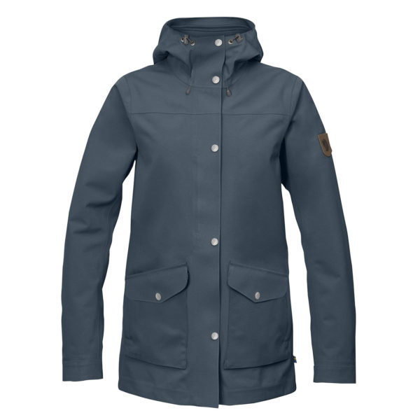 Fjallraven Womens Greenland Eco-Shell Jacket Dusk