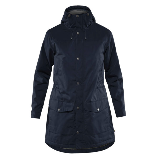 Fjallraven Womens Greenland Winter Parka Night Sky