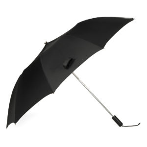 Fox Umbrellas Tel 2 Black Maple Straight Black