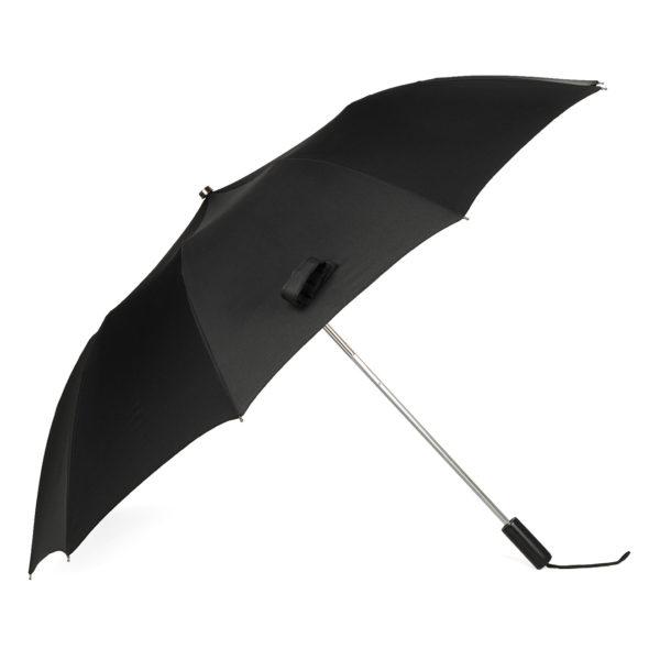 Fox Umbrellas Tel 2 Black Maple Straight Black