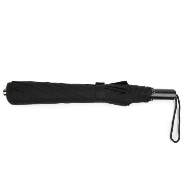 Fox Umbrellas Tel 2 Black Maple Straight/Black