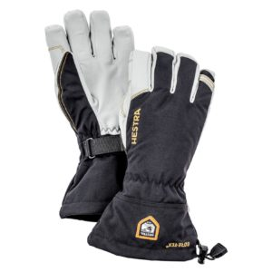 Hestra Army Leather Gore-Tex 5 Finger Black
