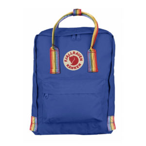 Fjallraven Kanken Rainbow Classic Deep Blue Rainbow Pattern