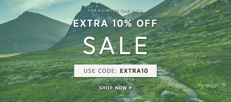 Extra 10% off - Mid Season Sale