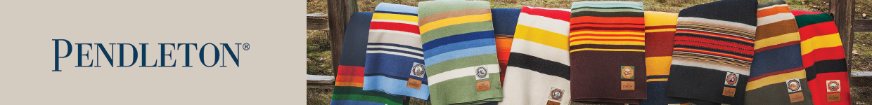 Pendleton Premium Woolen Colourful Blankets at The Sporting Lodge