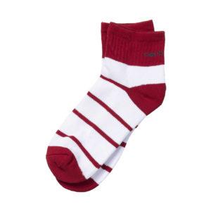Carhartt Akron Socks Cardinal White