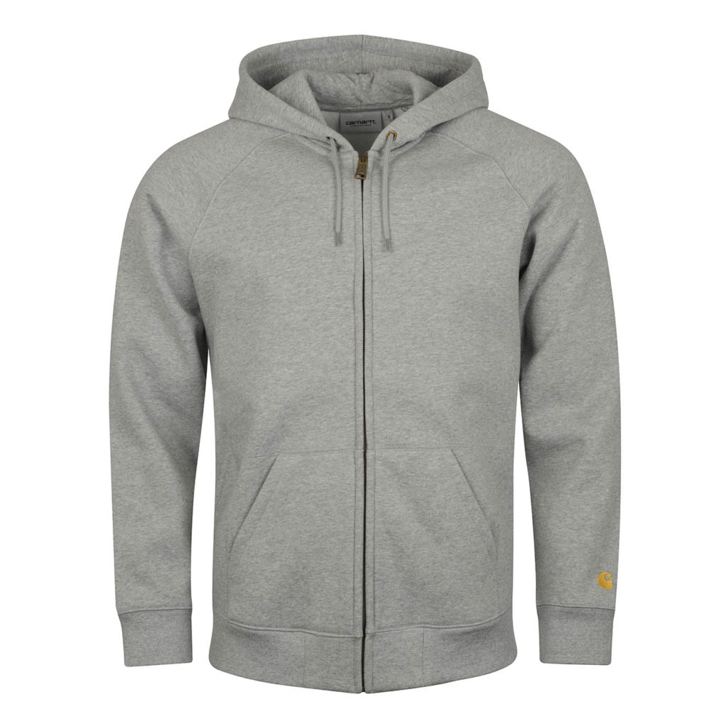 Carhartt Chase Hooded Jacket Grey Heather Gold