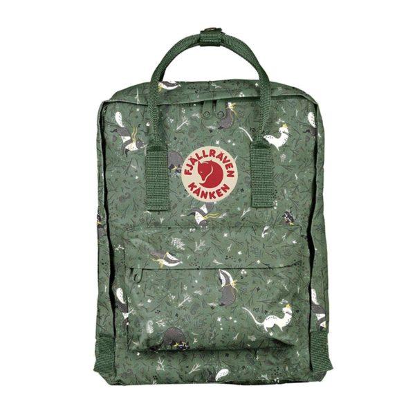 Fjallraven Kanken Art 13 Laptop Backpack Green Fable