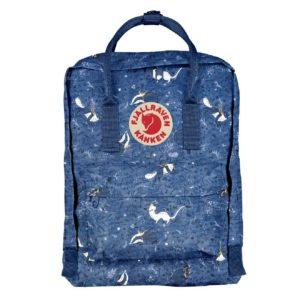 Fjallraven Kanken Art 15″ Laptop Backpack Blue Fable