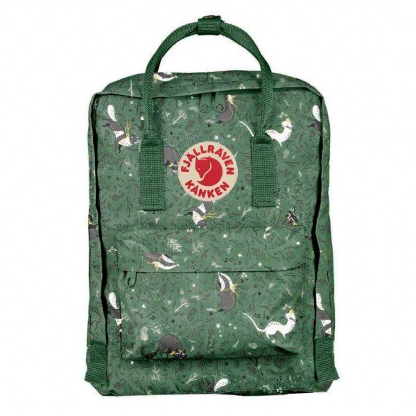 Fjallraven Kanken Art 15″ Laptop Backpack Green Fable