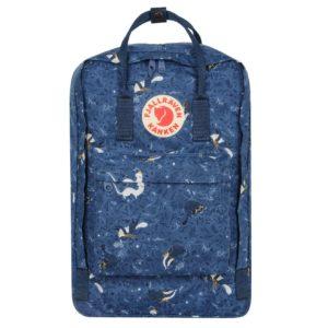 Fjallraven Kanken Art 17 Laptop Backpack Blue Fable