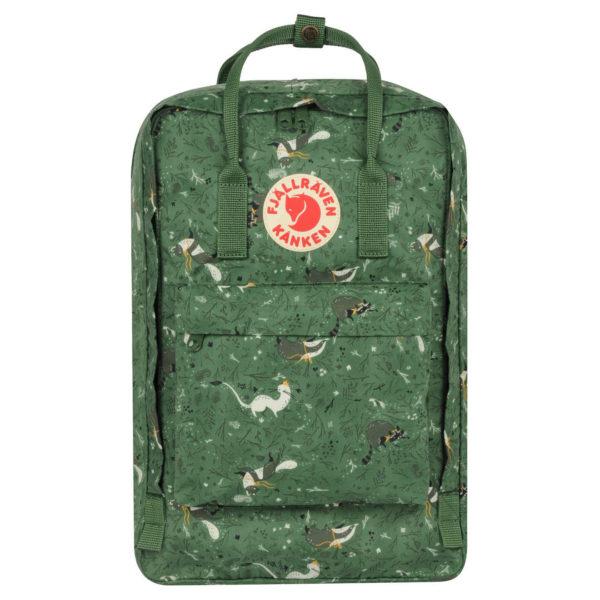 Fjallraven Kanken Art 17 Laptop Backpack Green Fable