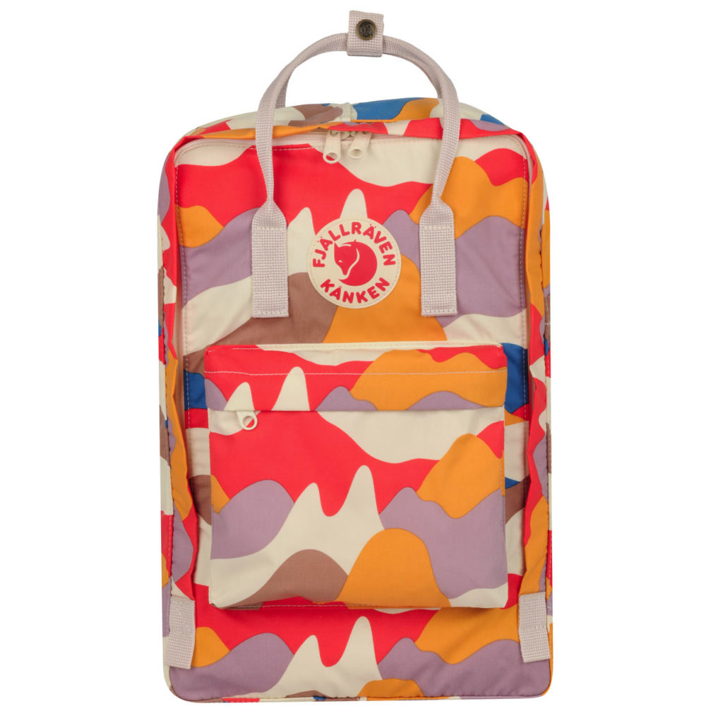 Fjallraven Kanken Art 17 Laptop Backpack Spring Landscape