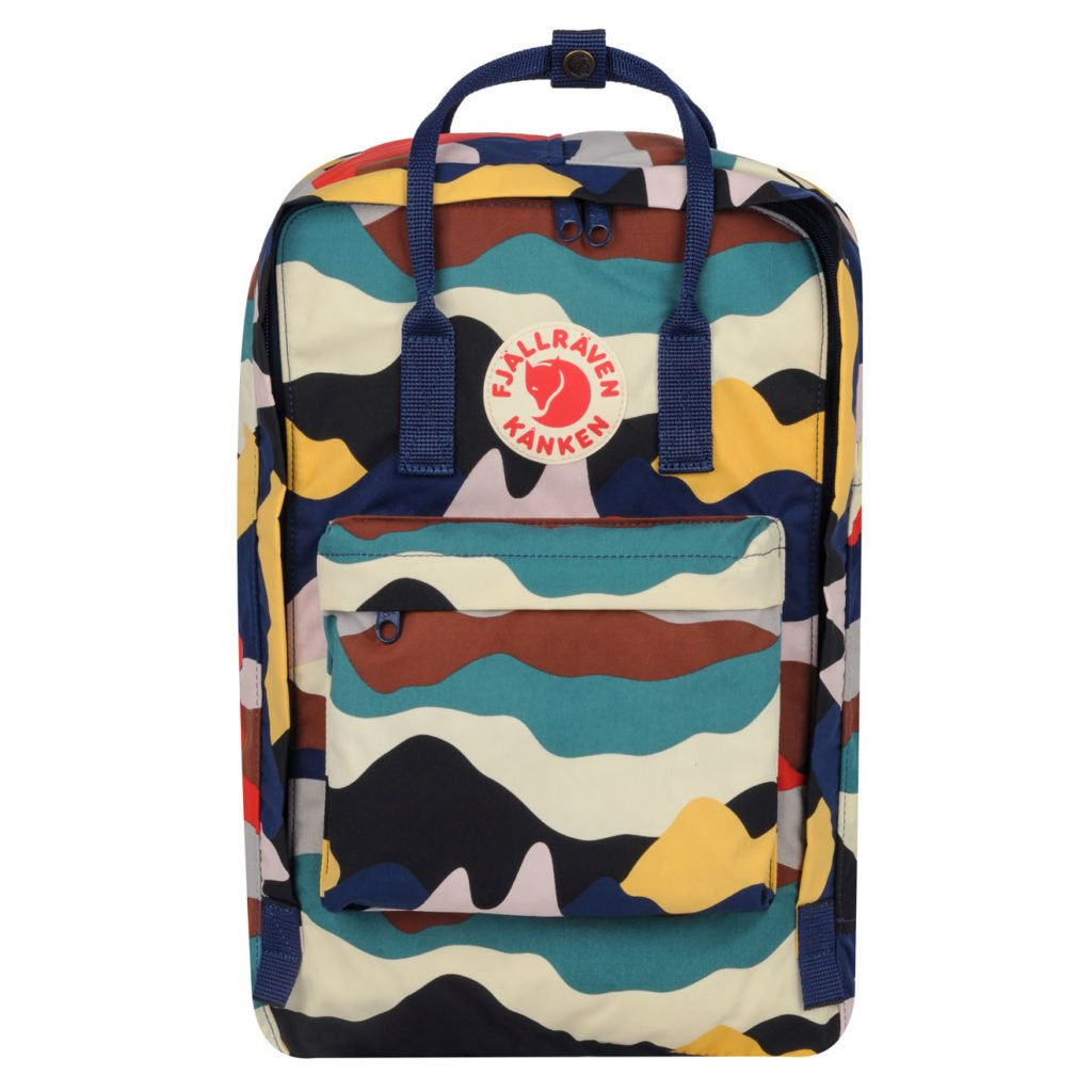 Fjallraven Kanken Art 17 Laptop Backpack Summer Landscape