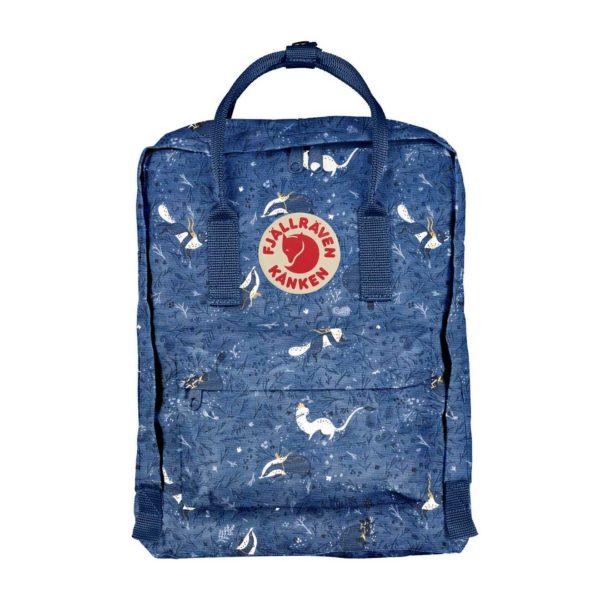 Fjallraven Kanken Art Classic Backpack Blue Fable