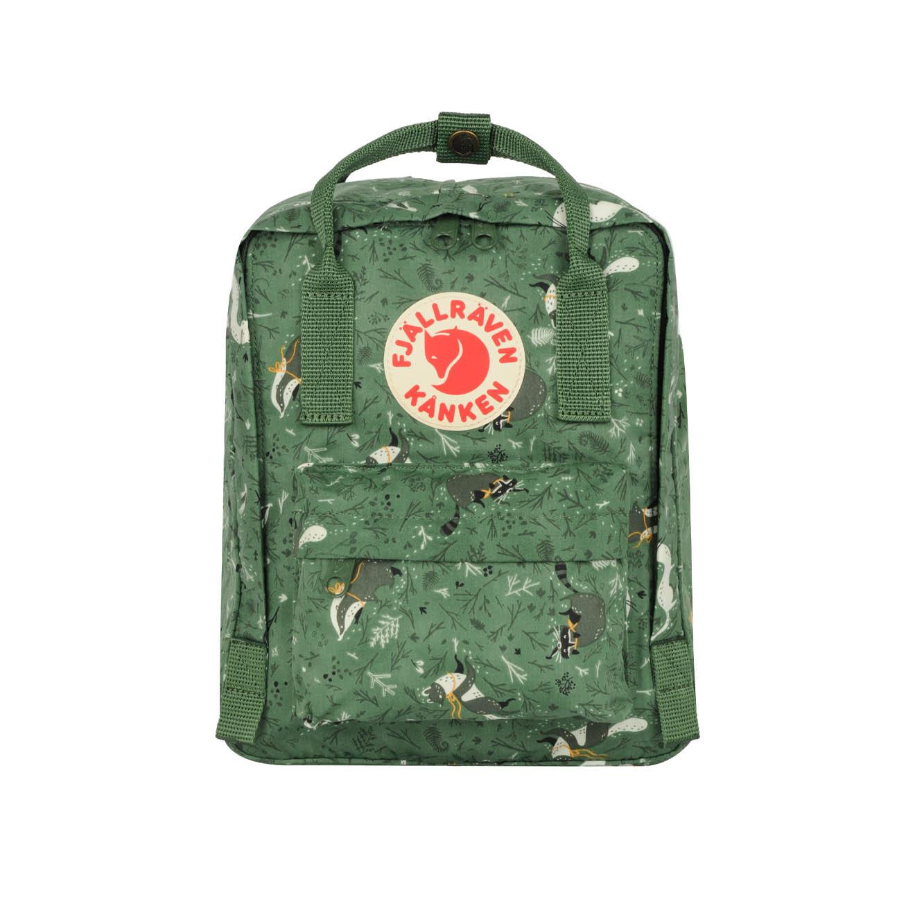 7b8782af0793c Fjallraven Kanken Art Mini Backpack Green Fable - The Sporting Lodge