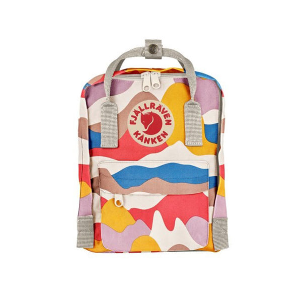 Fjallraven Kanken Art Mini Backpack Spring Landscape