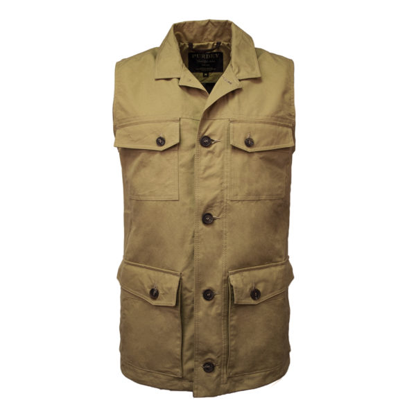 James Purdey Percival Safari Gilet Bronze
