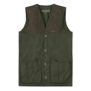 Musto Shooting Vest Dark Moss