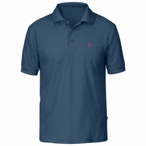 Fjallraven Crowley Pique Shirt Uncle Blue
