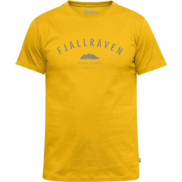 Fjallraven Trekking Equipment T-Shirt Warm Yellow