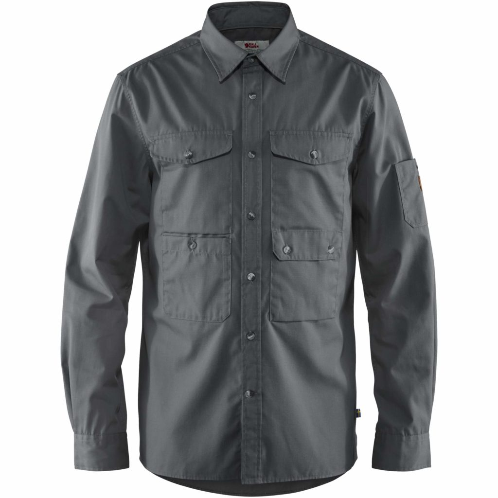 Fjallraven Ovik Shade Pocket Shirt Dusk