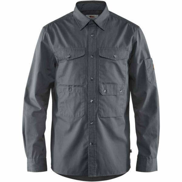 Fjallraven Ovik Shade Pocket Shirt Dusk