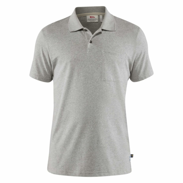 Fjallraven Greenland Re-Cotton Polo Shirt Grey