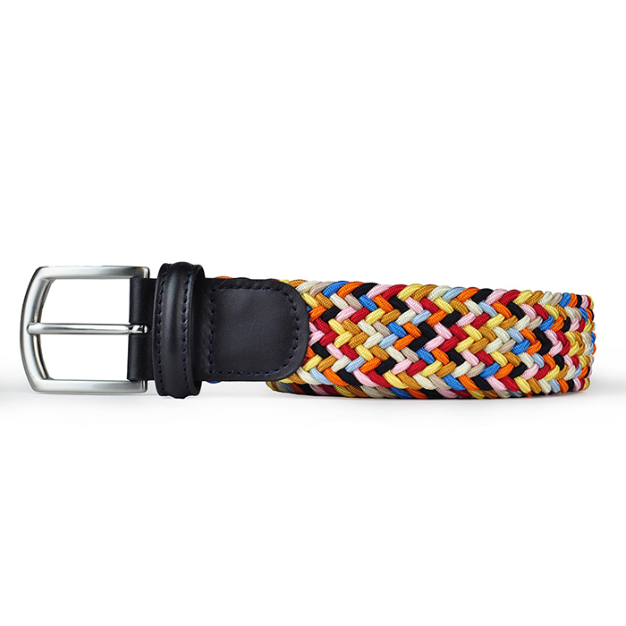 Anderson's-Woven-Textile-Belt-Multicoloured