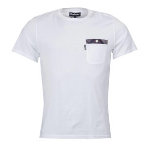 Barbour Bilberry T-shirt White