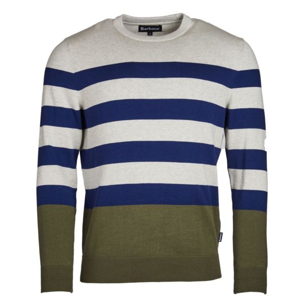 Barbour Copinsay Crew Neck Sweater Inky Blue