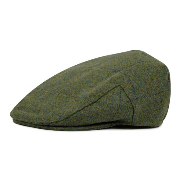 Barbour Crieff Cap Sage Green Blue