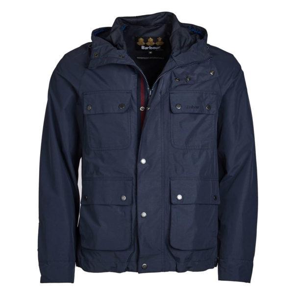 Barbour Hallow Jacket Navy