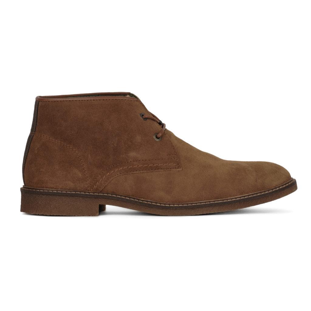 Barbour Kalahari Desert Boots Brown Suede