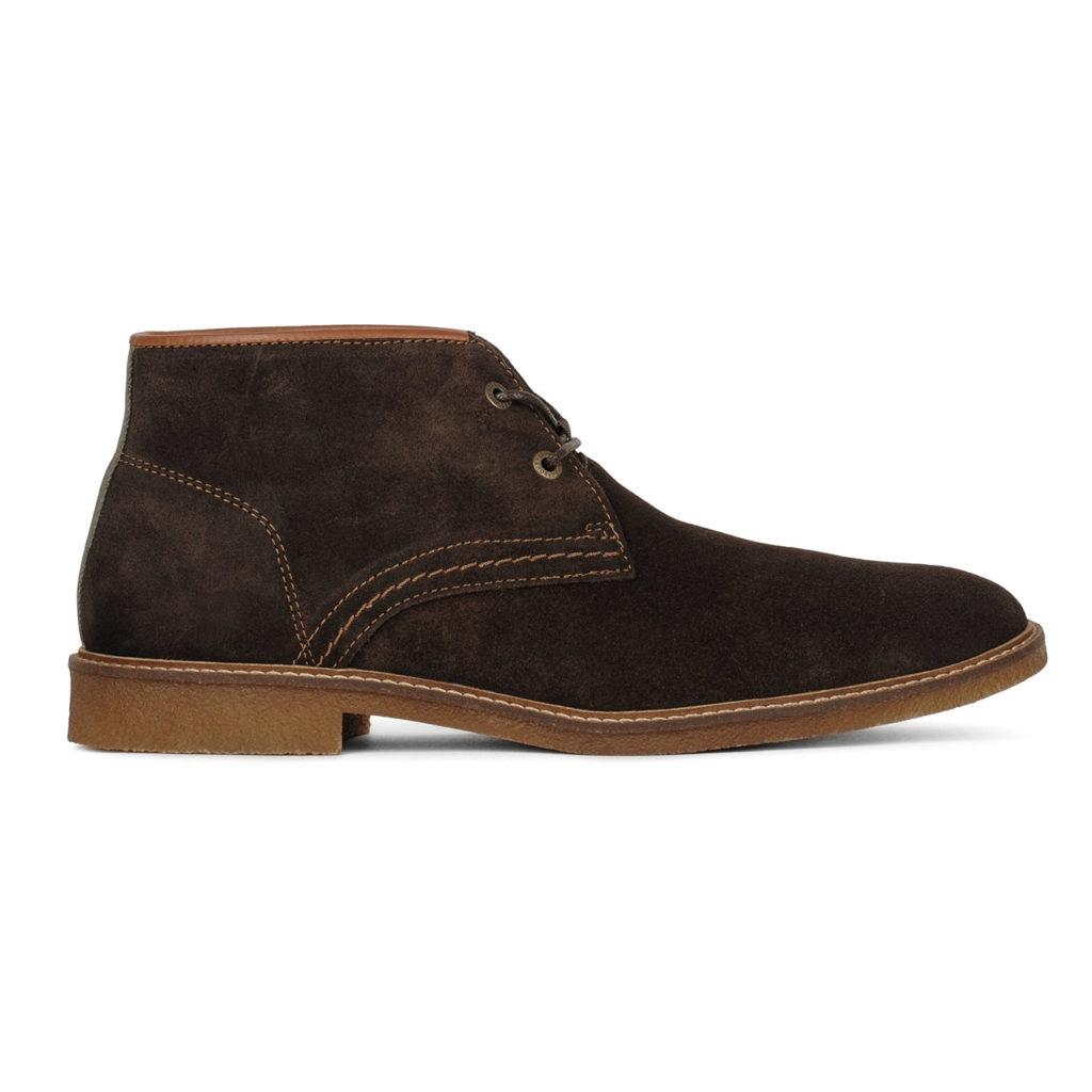 Barbour Kalahari Desert Boots Choc Suede