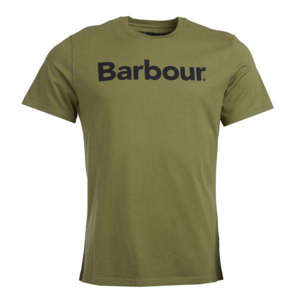 Barbour Logo T-Shirt Burnt Olive