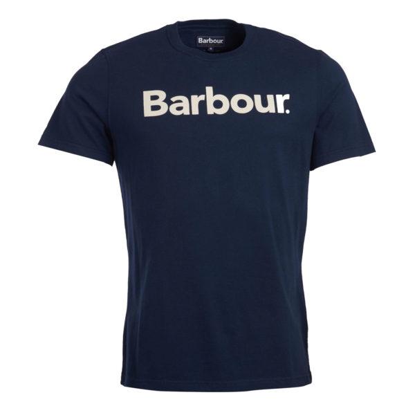 Barbour Logo T-Shirt Navy