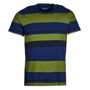 Barbour Longitude Stripe T-shirt Inky Blue