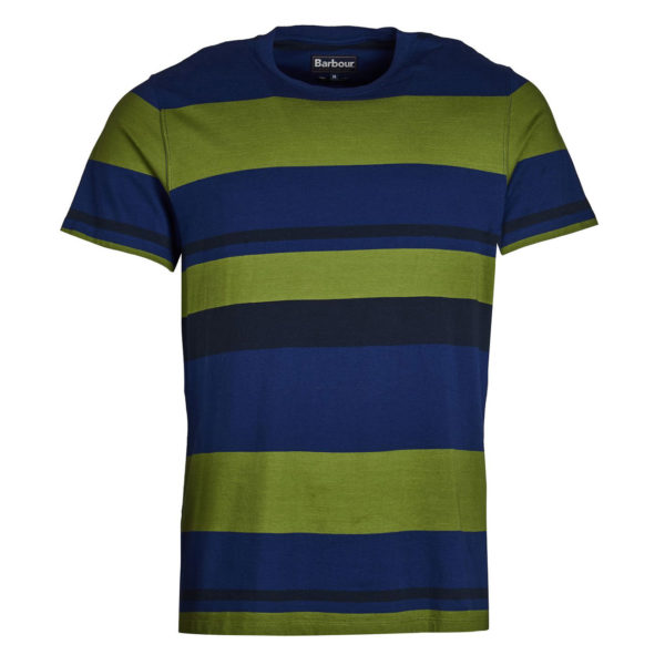 Barbour Longitude Stripe T-shirt Inky Blue