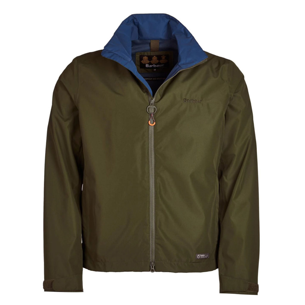 Barbour Rye Jacket Rifle Green