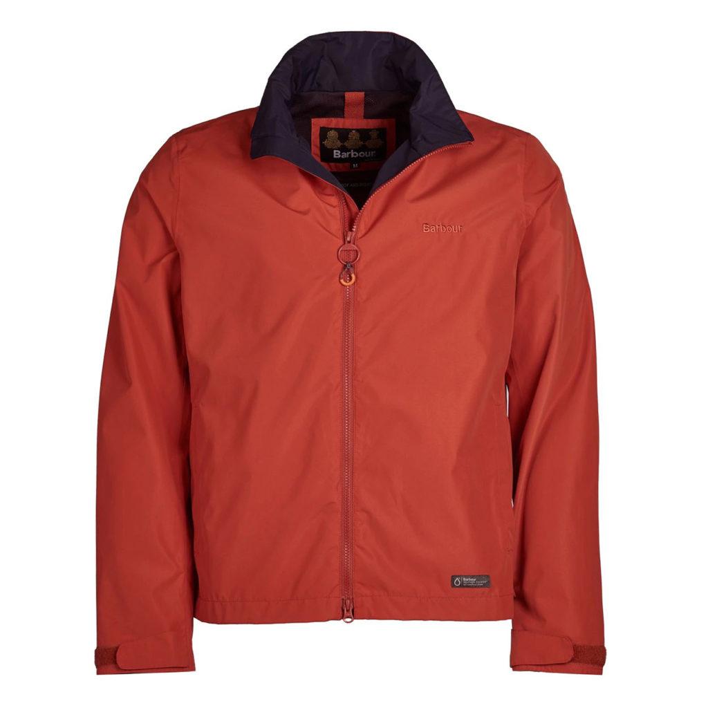 Barbour Rye Jacket Sunset Orange