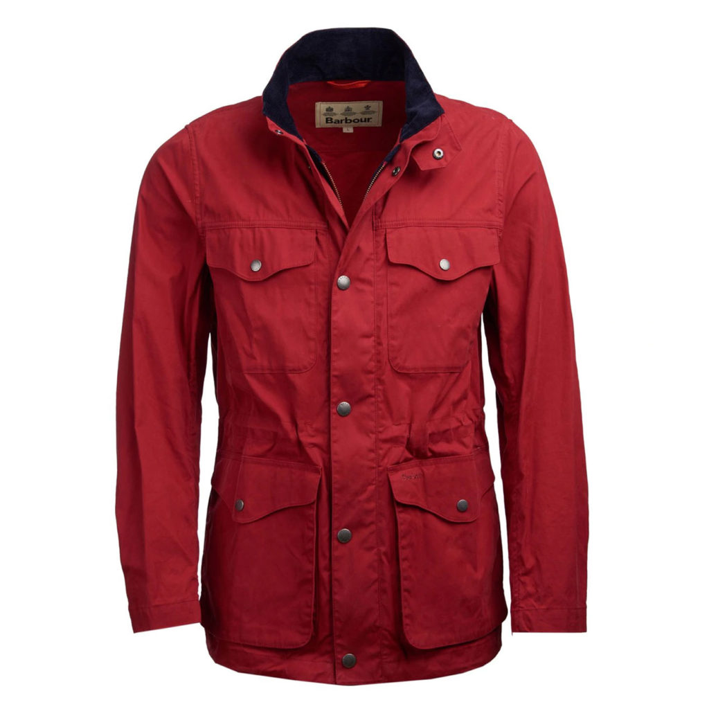 Barbour Skipton Casual Jacket Lobster Red