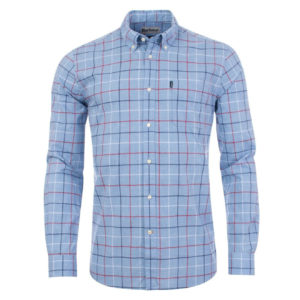 Barbour Tattersall 1 Tailored Shirt Red
