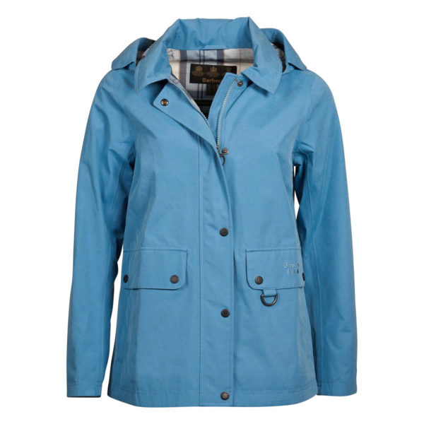 Barbour Tramontane Waterproof Breathable Jacket Blue Heaven