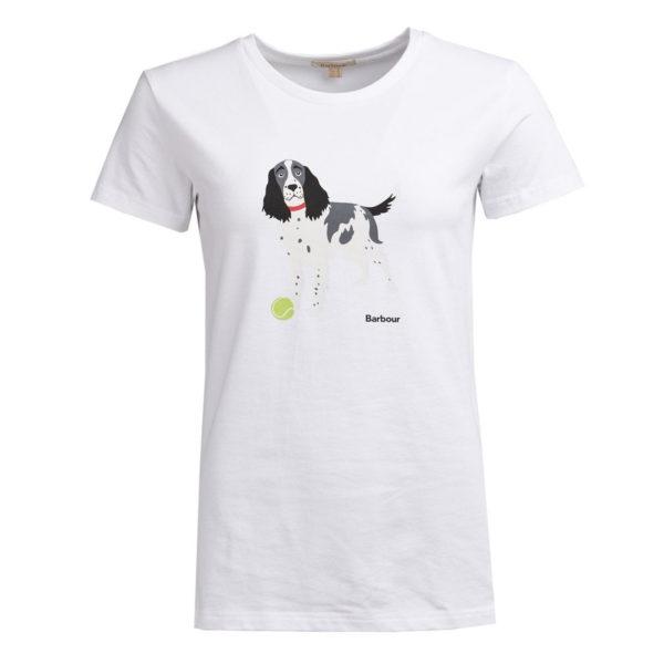 Barbour Womens Bellflower T-Shirt White
