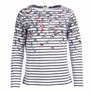 Barbour Womens Bowfell Top White
