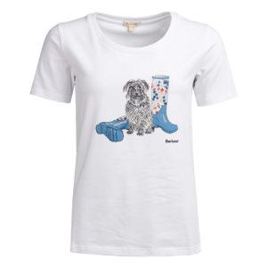 Barbour Womens Brambling T-Shirt White